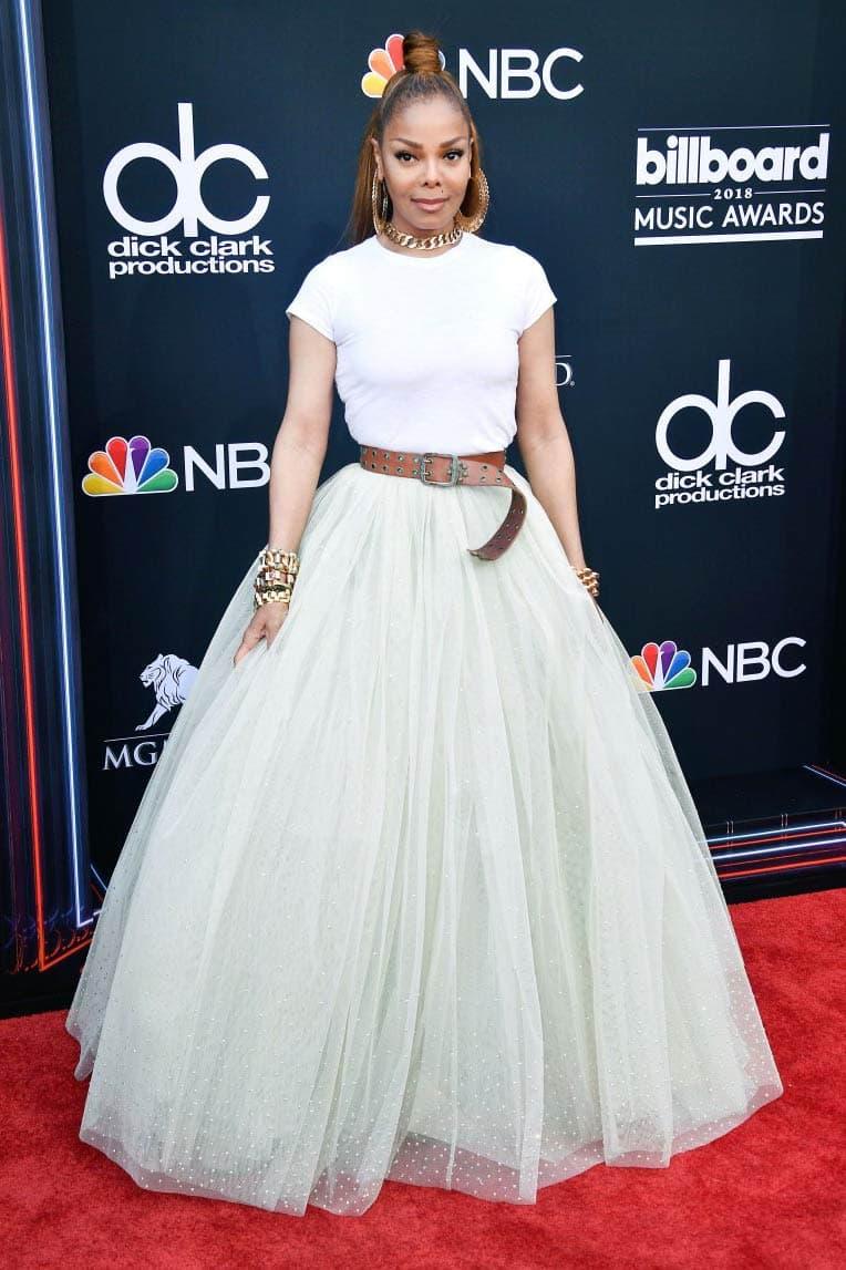 Janet Jackson Billboard Music Awards 2018 Red Carpet