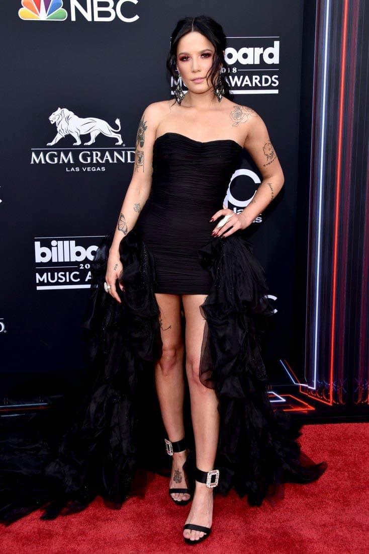 Halsey Billboard Music Awards 2018 Red Carpet