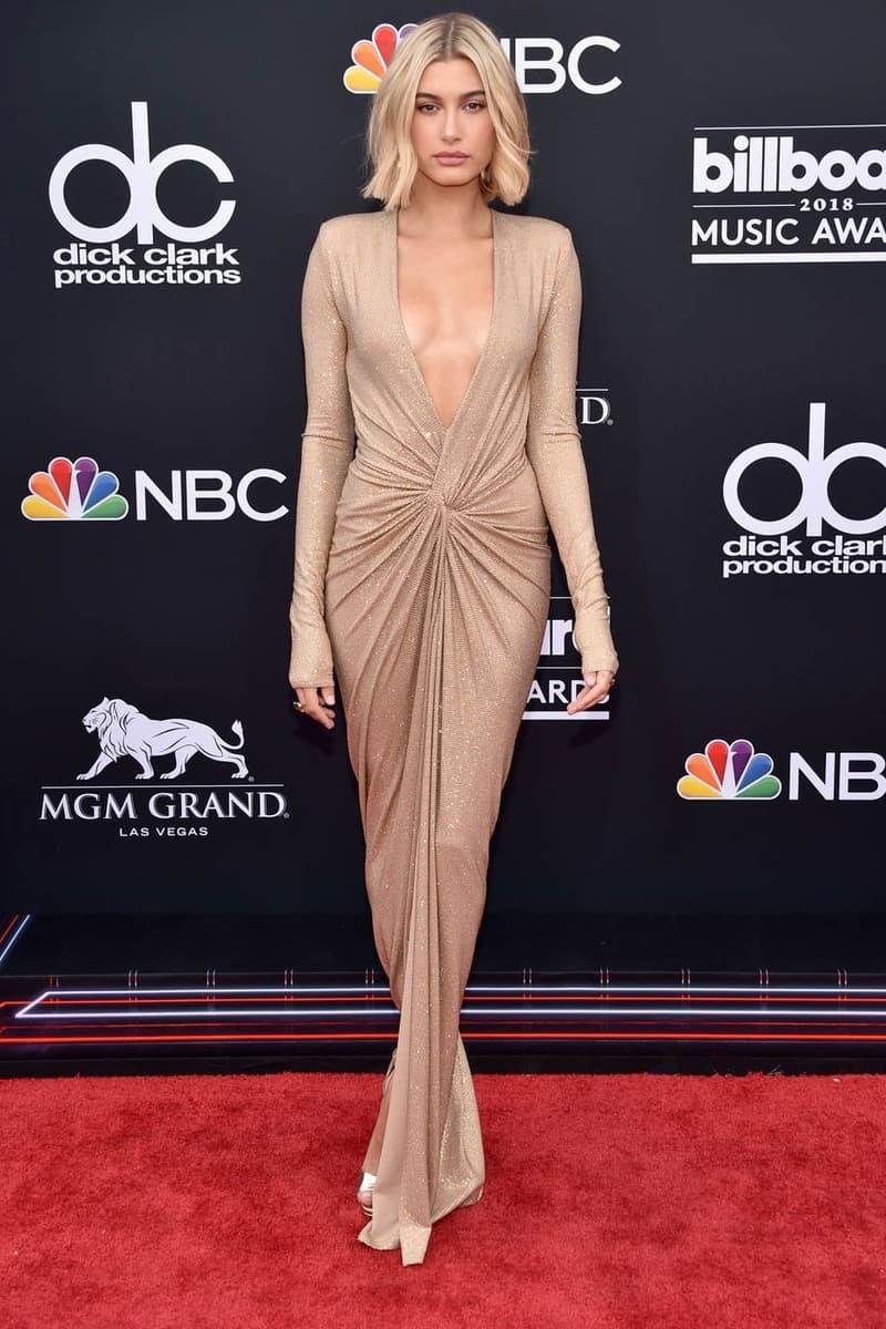 Hailey Baldwin Billboard Music Awards 2018 Red Carpet