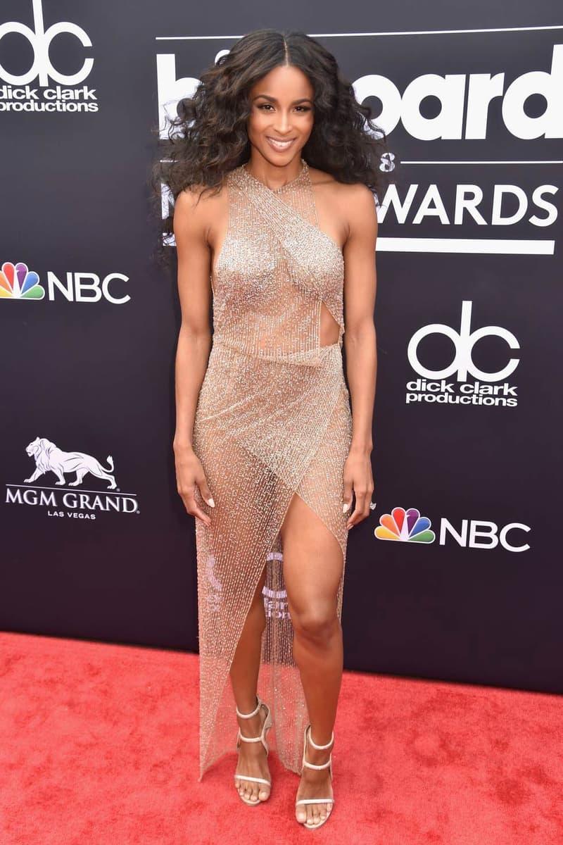 Ciara Billboard Music Awards 2018 Red Carpet