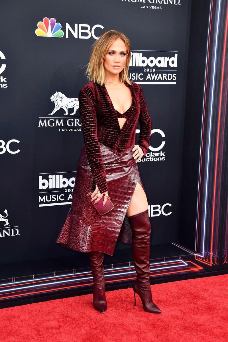 Jennifer Lopez Billboard Music Awards 2018 Red Carpet