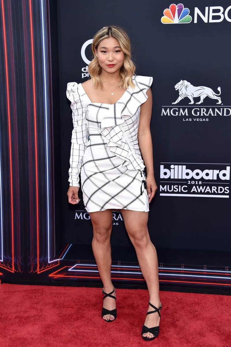 Chloe Kim Billboard Music Awards 2018 Red Carpet