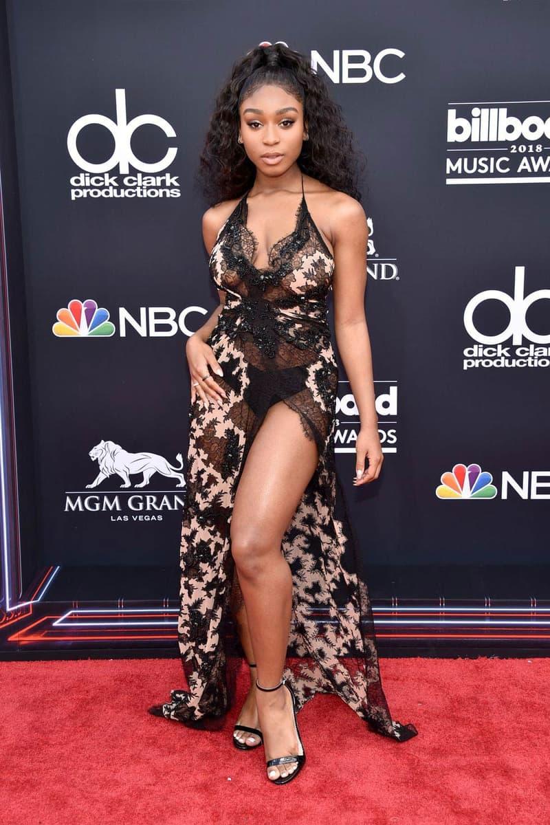 Normani Billboard Music Awards 2018 Red Carpet