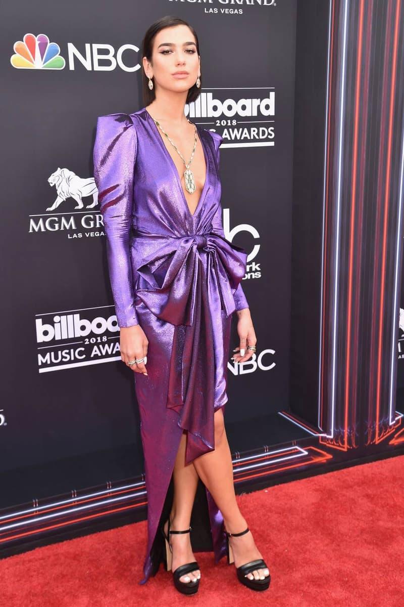 Dua Lipa Billboard Music Awards 2018 Red Carpet