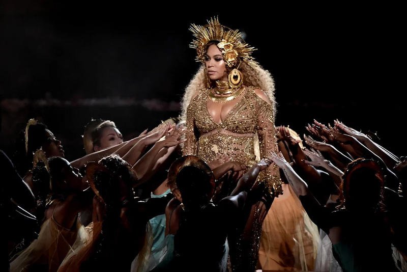 beyonce buys church new orleans 2017 grammys gold outfit religion queen bey