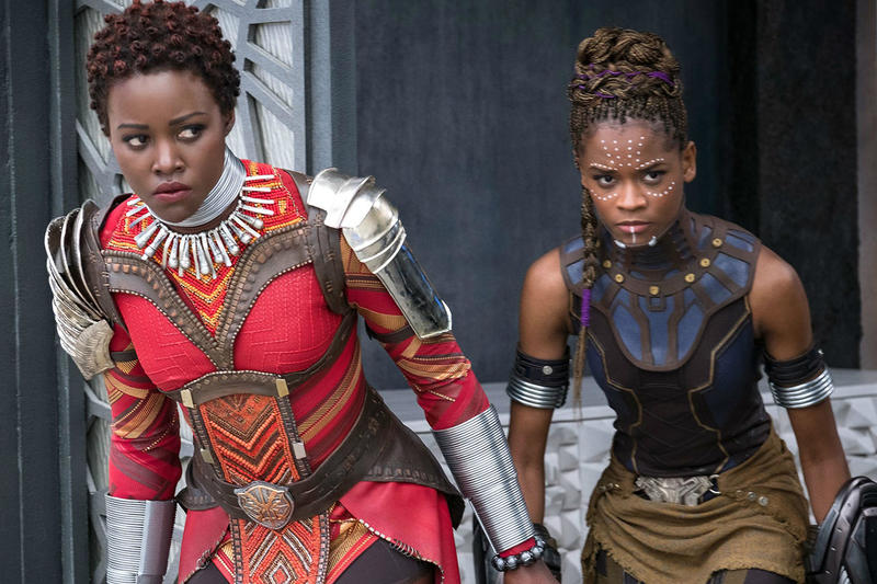 Black Panther Wakanda Women Spinoff Movie Lupita Nyong'o Nakia Letitia Wright Shuri