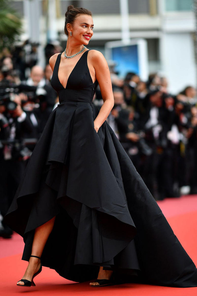 2018 Cannes Film Festival Irina Shayk Gown Black