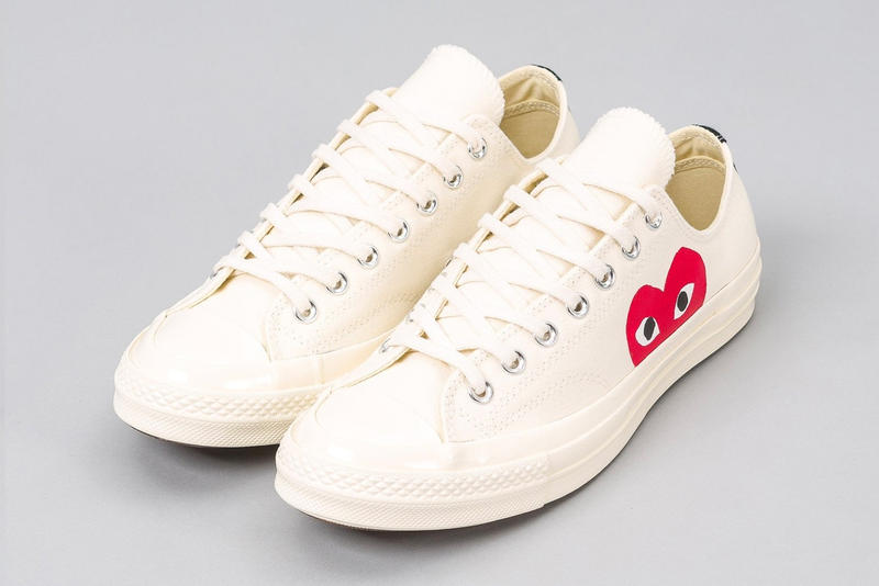 ddf0654197da CDG PLAY x Converse Chuck Taylor All Star 70 s Comme Des Garcons Sneakers  Converse High Top