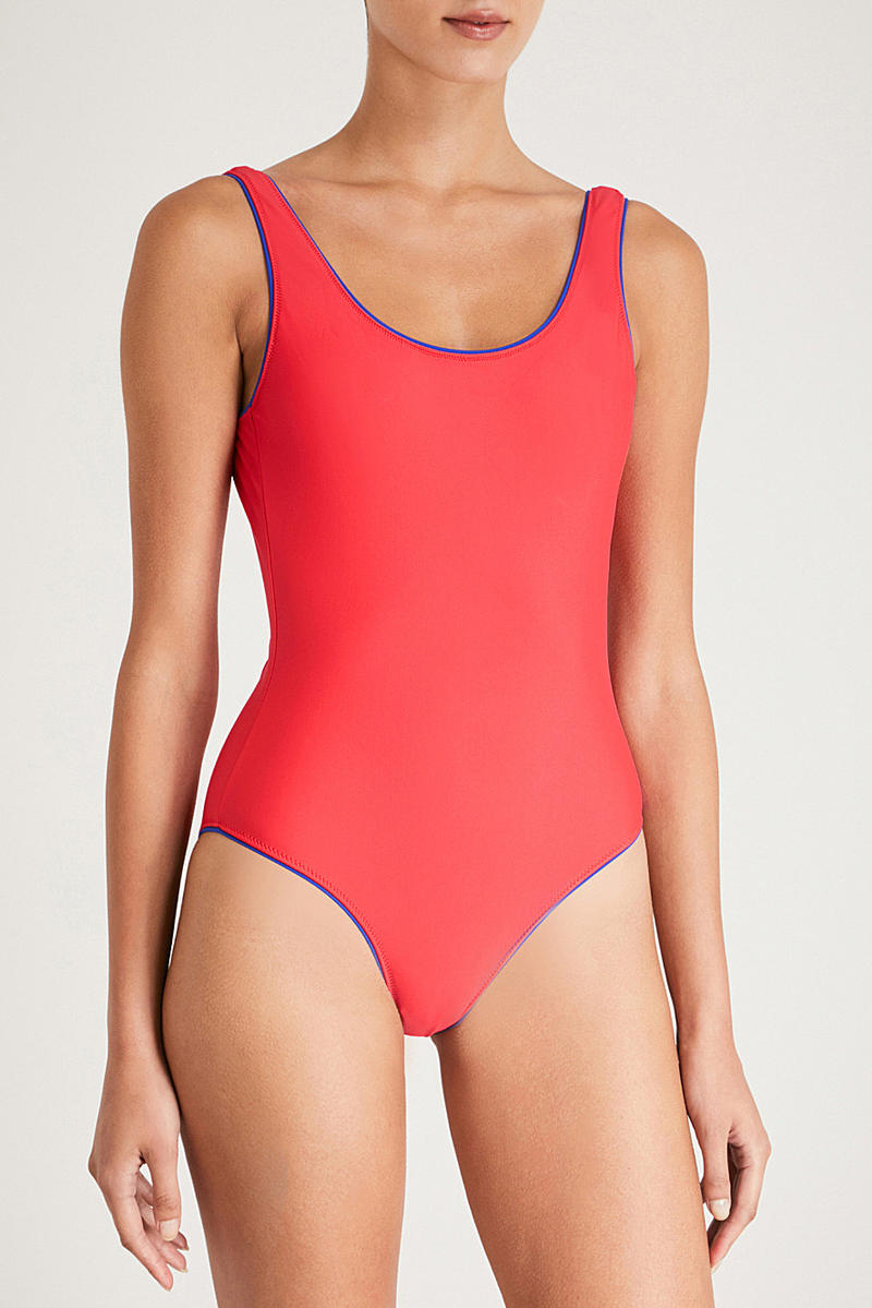 Champion Red Swimsuit