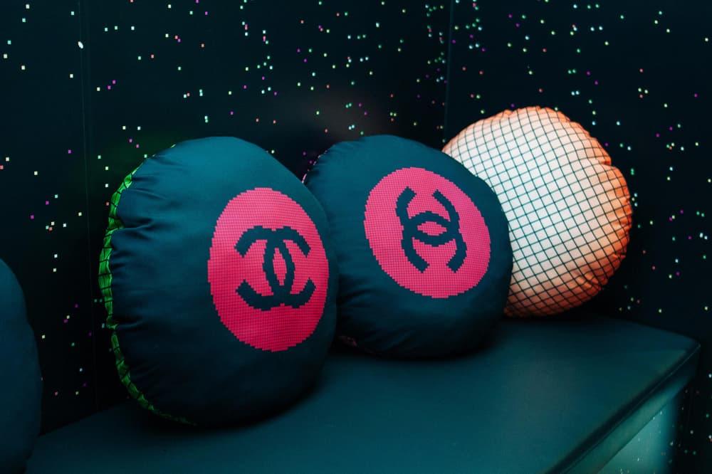 Chanel Beauty Hong Kong Coco Game Center Pillows