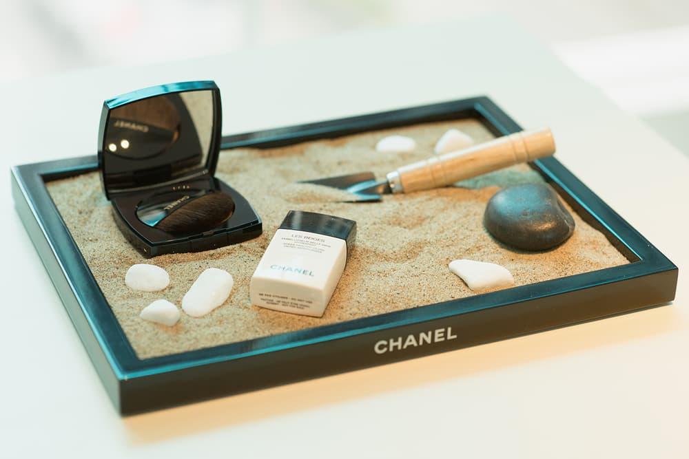Chanel Beauty Lipsticks LES BEIGES À LA PLAGE Vancouver Pop-Up Store Makeup Holt Renfrew Tinted Moisturizer