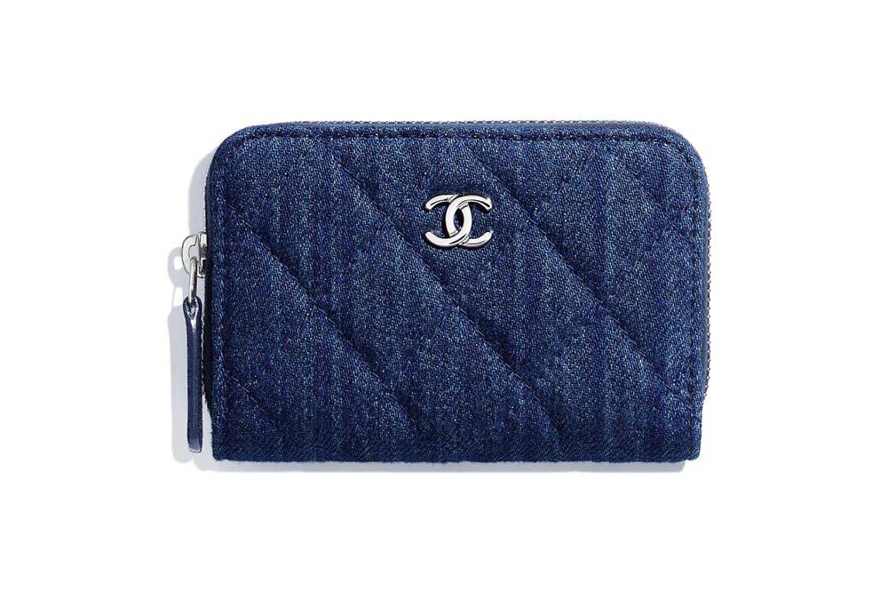 167d68a91a0d Where to Buy Retro Chanel Denim Logo Coin Purse | HYPEBAE