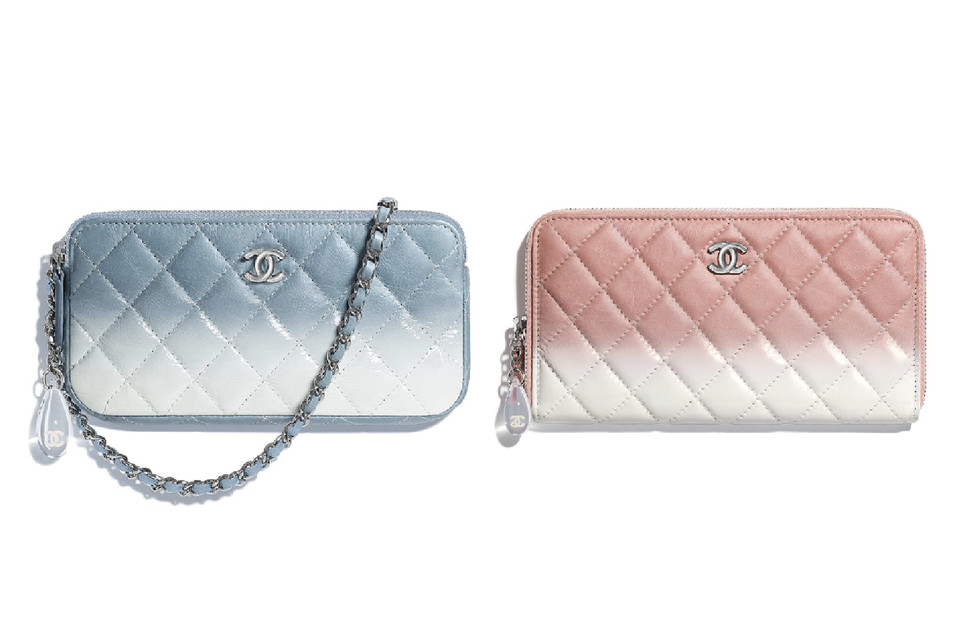 Chanel Pastel Ombré Clutch and Purses  7fb93d626e095