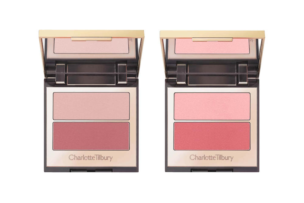 Charlotte Tilbury Pretty Youth Glow Filters Pretty Fresh Seduce Blush