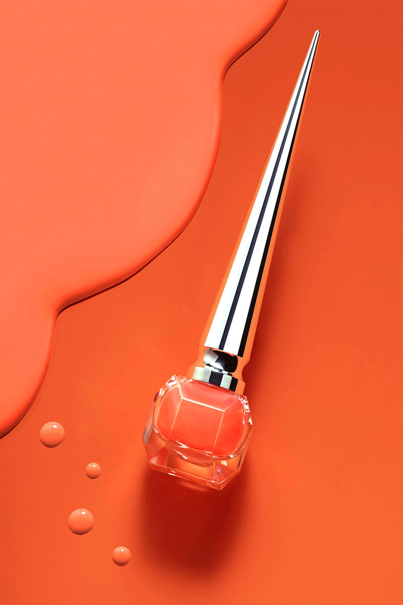 Christian Louboutin Loubiflash Neon Nail Polish Crosta Meteor Orange Neoprene Pink Dragonflash Green