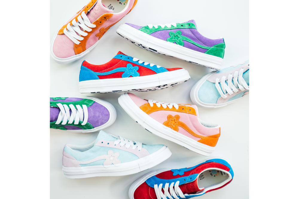 7ce7867c9964 Converse GOLF Le FLEUR One Star Collection Tyler the Creator Sneaker Shoe  Collaboration Pastel Color Spring