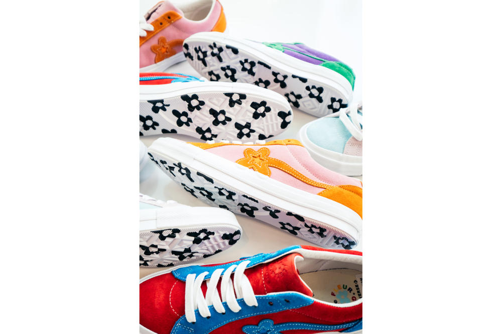 88febe7e6453 Converse GOLF Le FLEUR One Star Collection Tyler the Creator Sneaker Shoe  Collaboration Pastel Color Spring