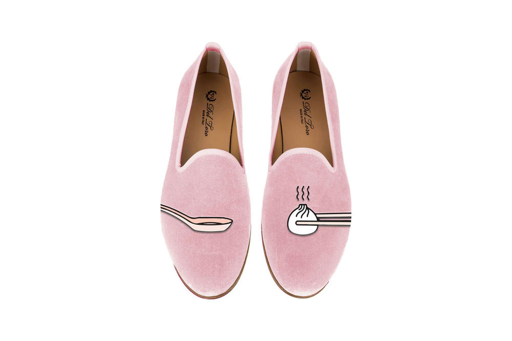 Del Toro Foodies Collection Moda Operandi Dumplings Slipper Pink