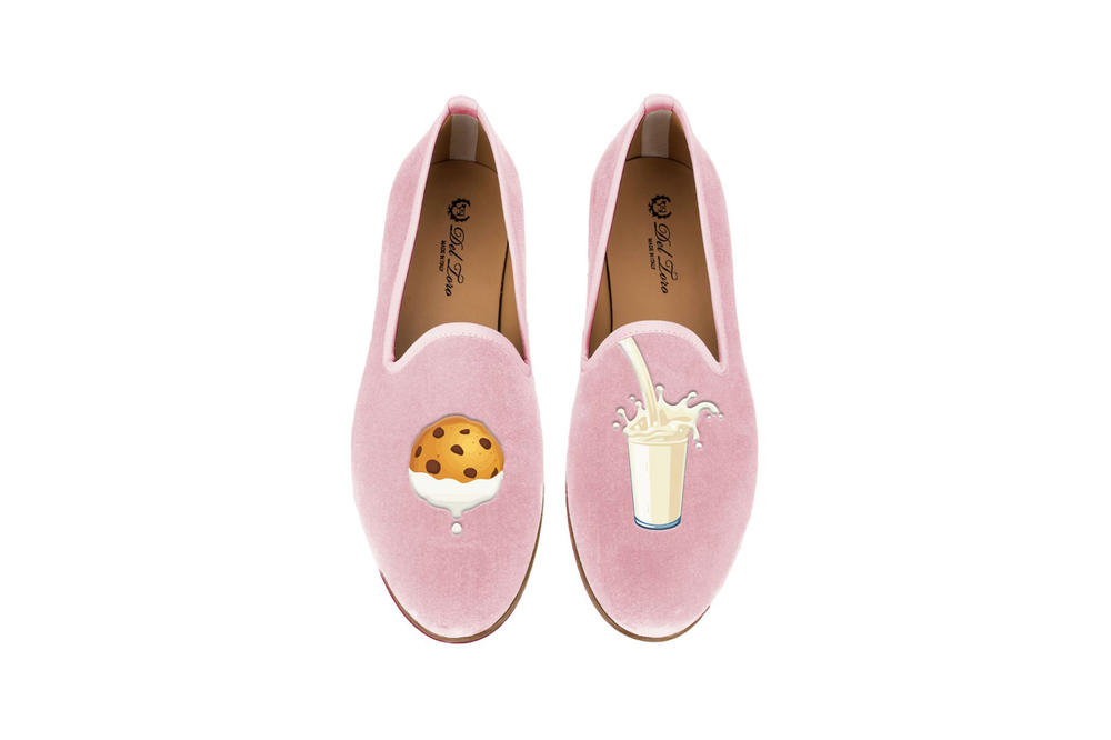 Del Toro Foodies Collection Moda Operandi Milk & Cookies Slipper Pink