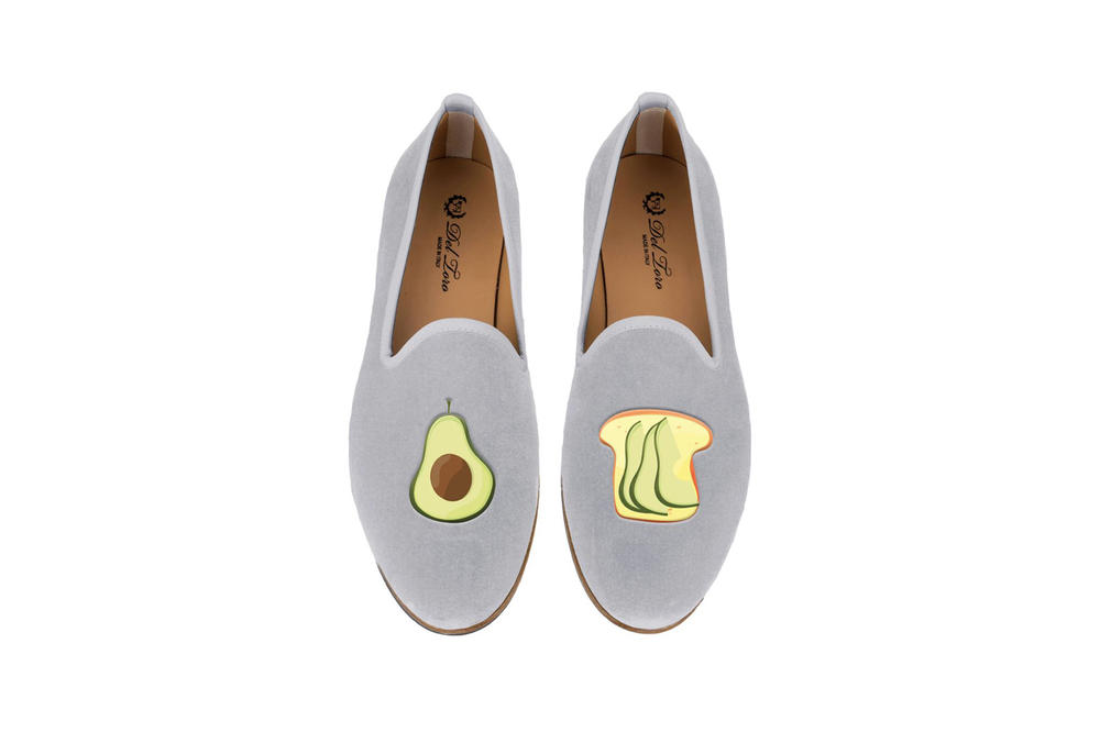 Del Toro Foodies Collection Moda Operandi Avocado & Toast Slipper Blue