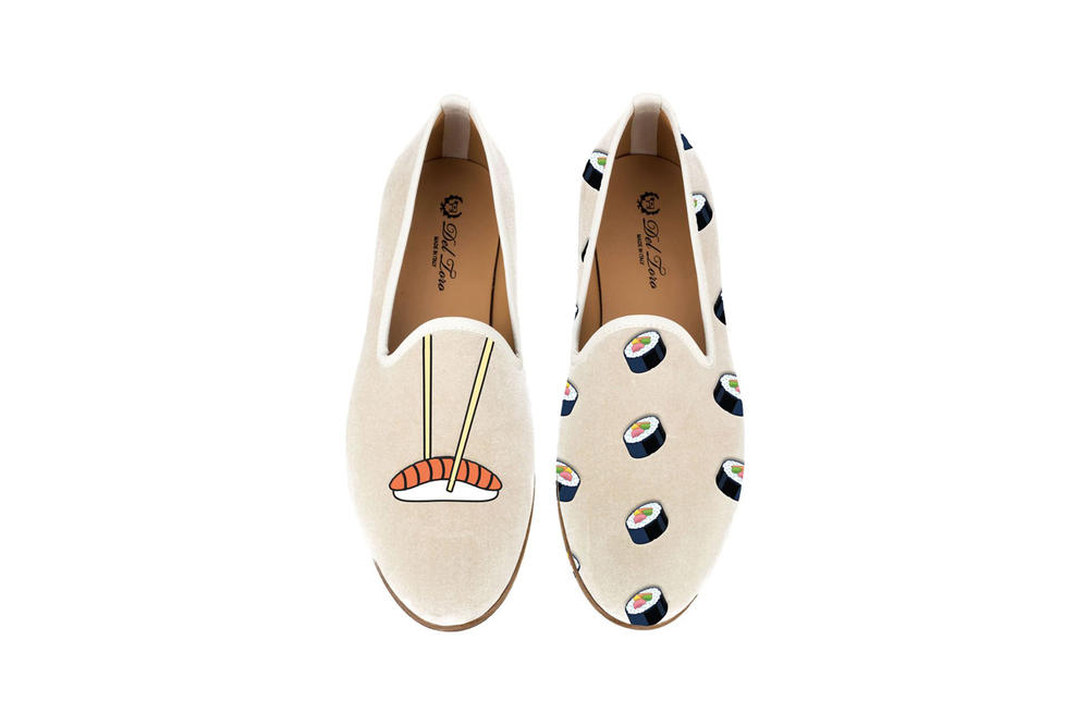 Del Toro Foodies Collection Moda Operandi Sushi Slipper Pink