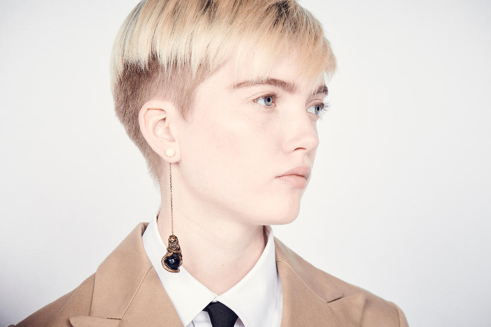 Dior Cruise 2019 Resort Runway Backstage Ruth Bell Earring