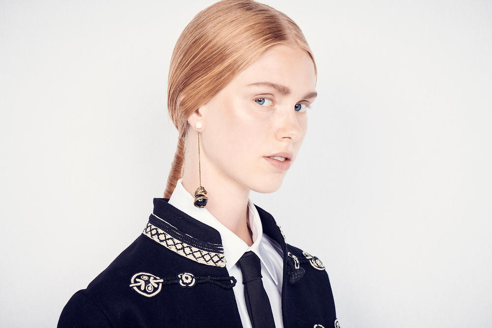 Dior Cruise 2019 Resort Runway Backstage Earring