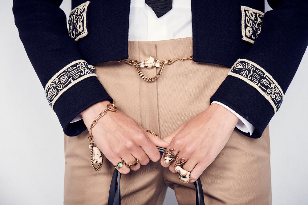 Dior Cruise 2019 Resort Runway Backstage Belt Rings