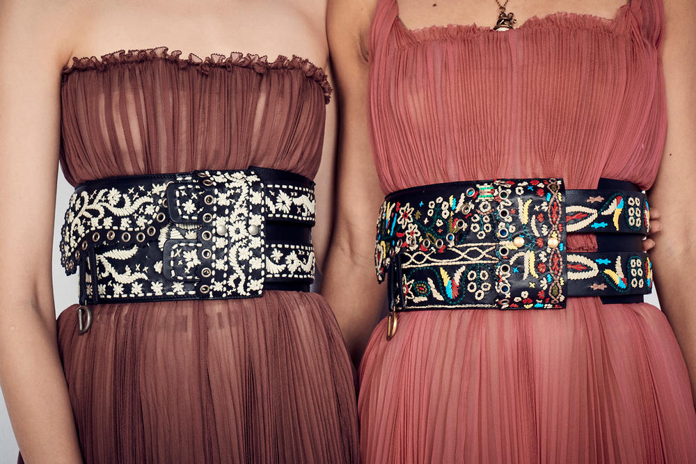 Dior Cruise 2019 Resort Runway Backstage Belts