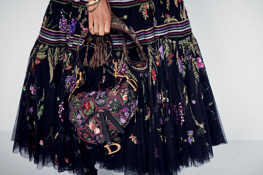 Dior Cruise 2019 Resort Runway Backstage Handbag Bag Saddle