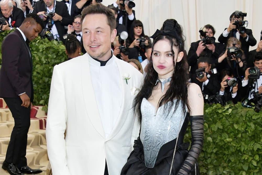 Elon Musk Grimes at Met Gala 2018 Dating Relationship