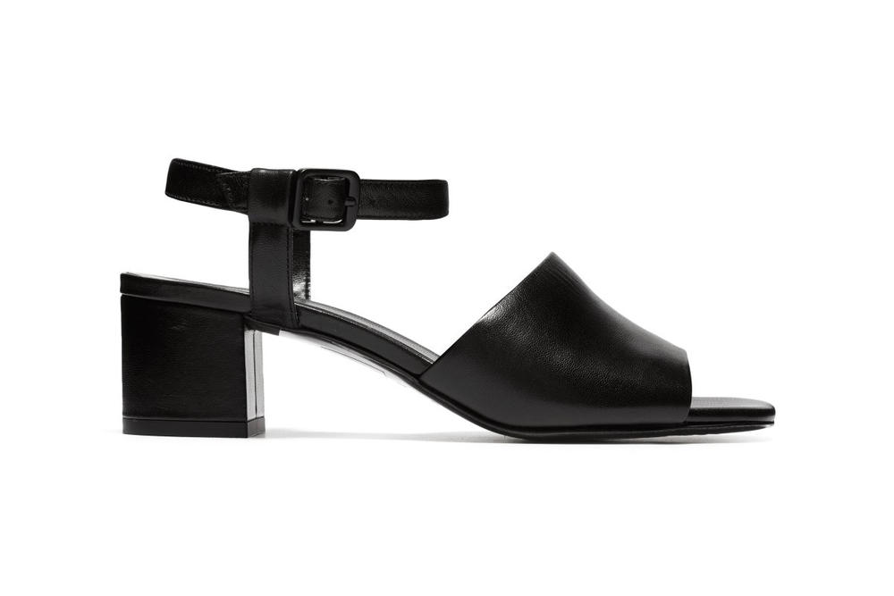 Everlane Block Heel Sandal Black