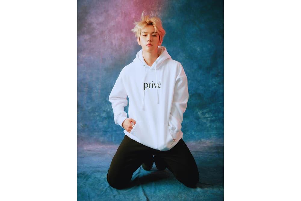 exo baekhyun prive by bbh unisex streetwear brand white hoodie