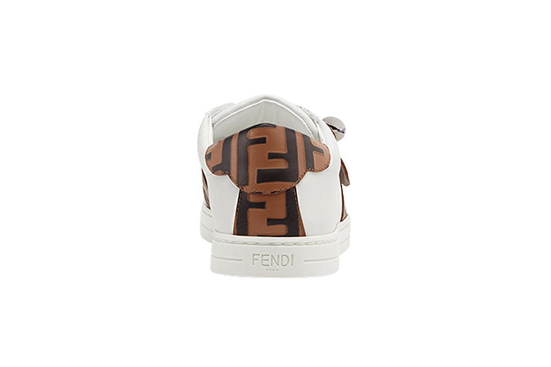 fendi ff band sneakers minimalist leather