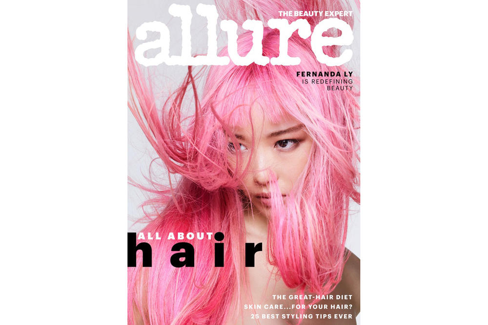 Allure June 2018 Hair Guide Issue Fernanda Ly