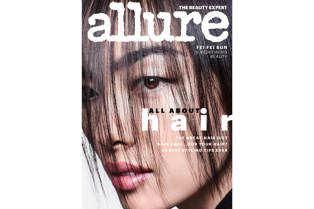 Allure June 2018 Hair Guide IssueFei Fei Sun