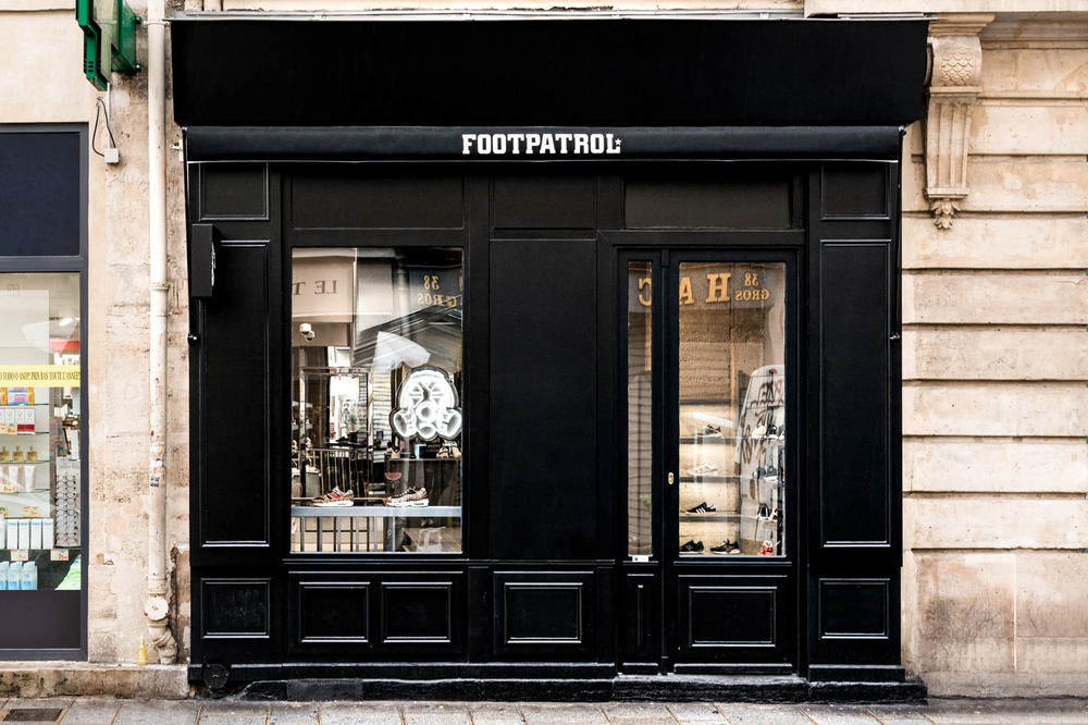 Foot Patrol Paris Store