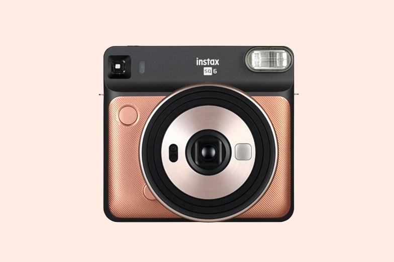 Fujifilm Instax SQUARE SQ6 Camera In Blush Gold