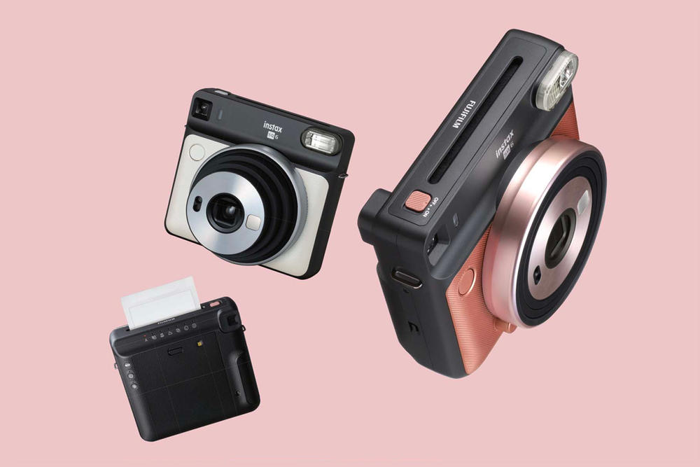 Fujifilm Instax SQUARE SQ6 Camera Blush Gold Graphite Gray Pearl White Release Date Price Instant Film Polaroid
