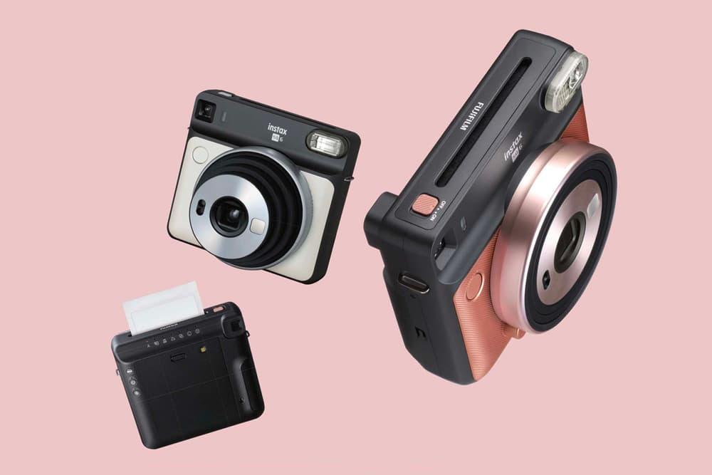 Fujifilm Instax SQUARE SQ6 Camera Blush Gold Graphite Gray Pearl White Release Date Price Instant Film