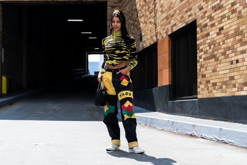 Gen Z Yellow Fashion Week Street Style Streetwear