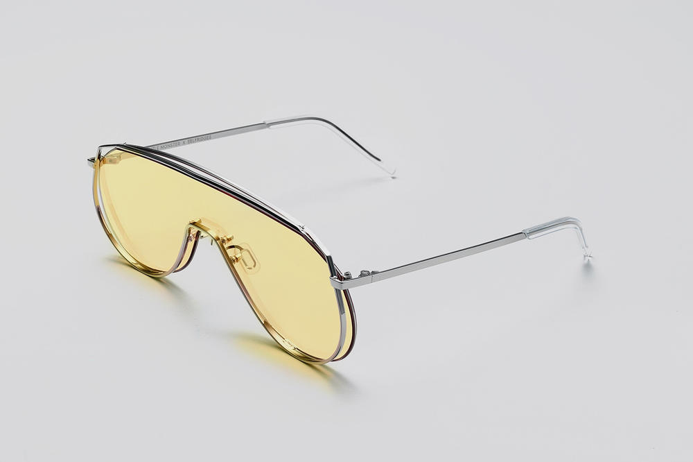 Gentle Monster x Selfridges Sunglasses Capsule Collection Afix Yellow