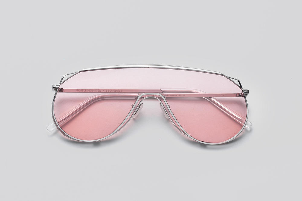 Gentle Monster x Selfridges Sunglasses Capsule Collection Afix Pink