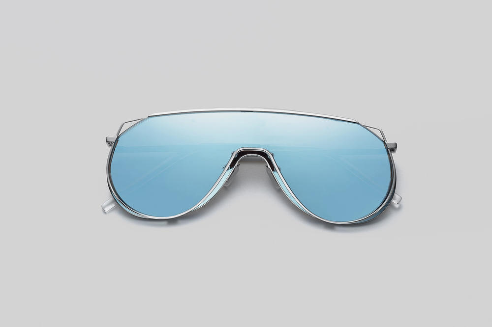 Gentle Monster x Selfridges Sunglasses Capsule Collection Afix Blue