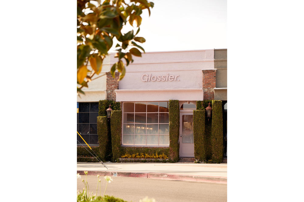 Glossier Opens Permanent Store in Los Angeles Makeup Emily Weiss Beauty Skincare