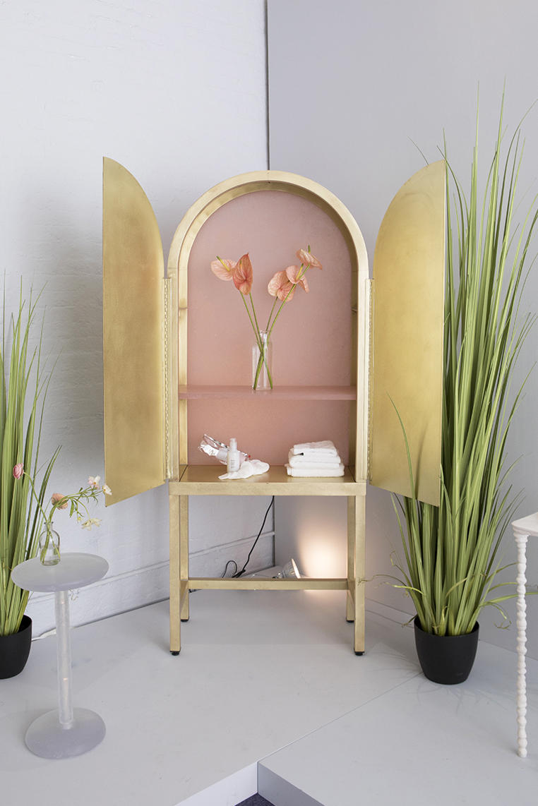Glossier Recycled Pink Furniture Kim Markel Sight Unseen