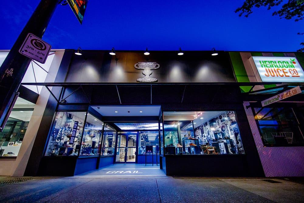 Grail Vancouver Sneaker Store Canada
