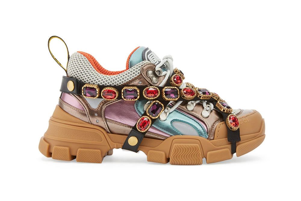 Gucci Chunky SEGA Jewel Covered Dad Sneakers