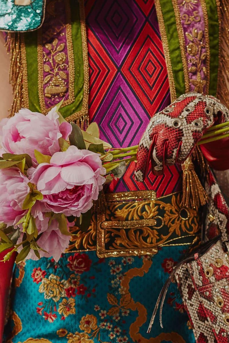 Gucci Cruise 2019 Runway Details Flower Belt Gloves Patterns