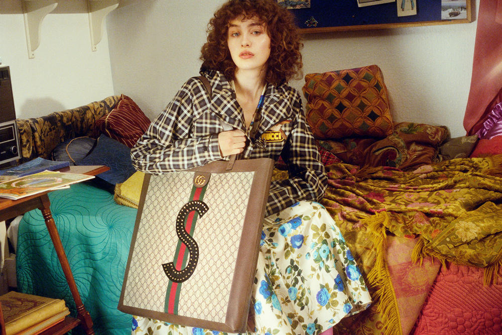 95733812444c GUCCI DIY Programme Ace Sneaker Ophidia Tote Bag Editorial Petra Collins